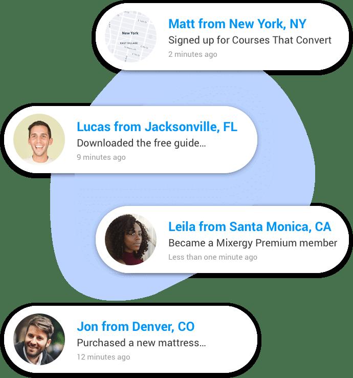 useproof social proof notifications
