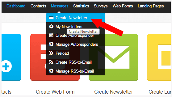 Create Your Newsletters