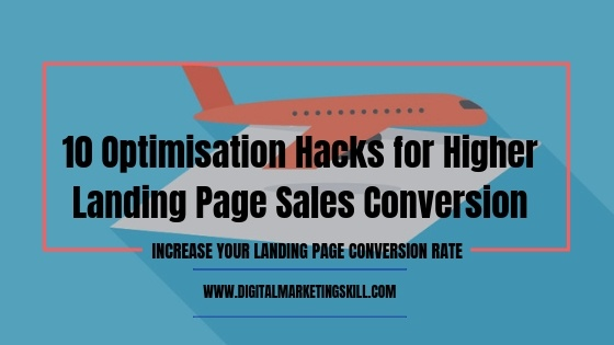landing page optimisation hacks