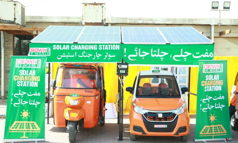 Crown Group invests Rs 2 billion in electric vehicles plant in pakistan