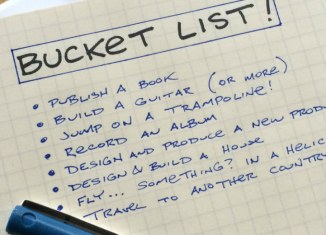Book on Bucket List