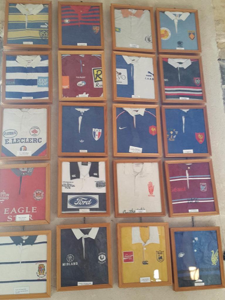 Camisetas de Jugadores de Rugby en Nuestra Señora de la Ovalada