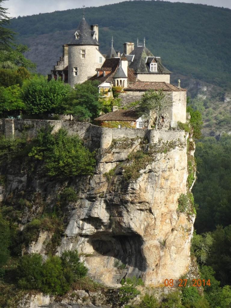 Rocamadour trepando el acantilado (4)