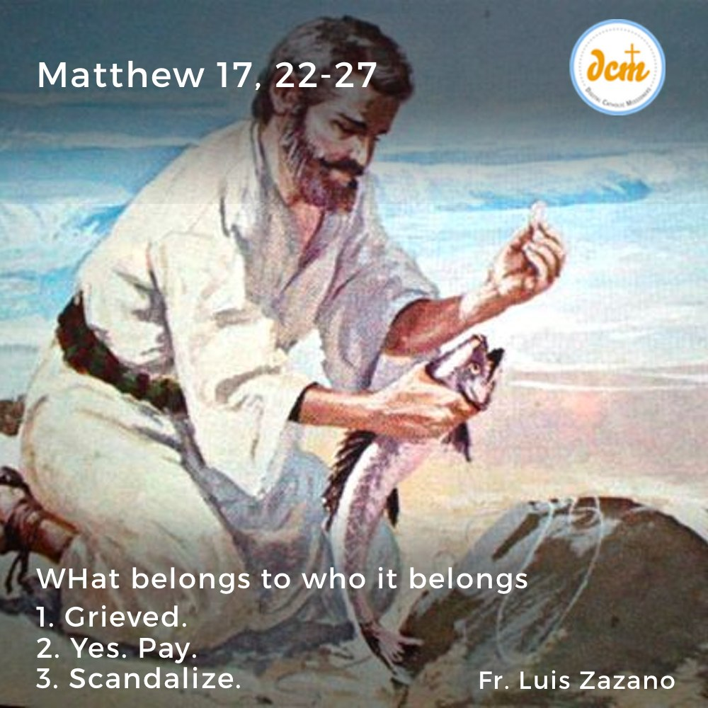 Matthew 17, 22-27-instagram