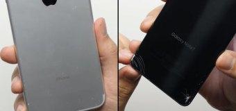 Video: Samsung Galaxy Note 7 vs Apple iPhone 7 Plus pogledajte koji bolje podnosi padove