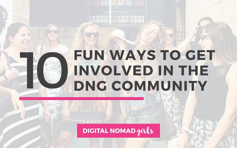 10 Fun ways to get involved in the DNG Community