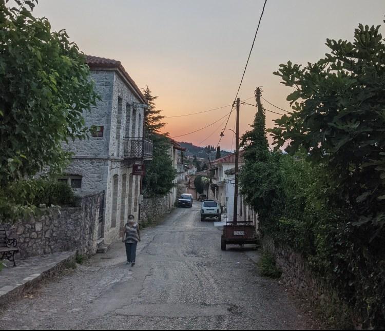 Traveling in Amfikleia Greece