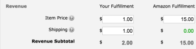 Amazon FBA calculator