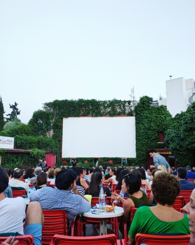 thission open air cinema