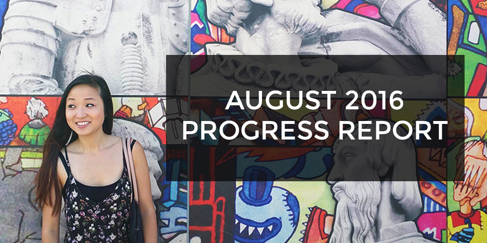 august 2016 progress report