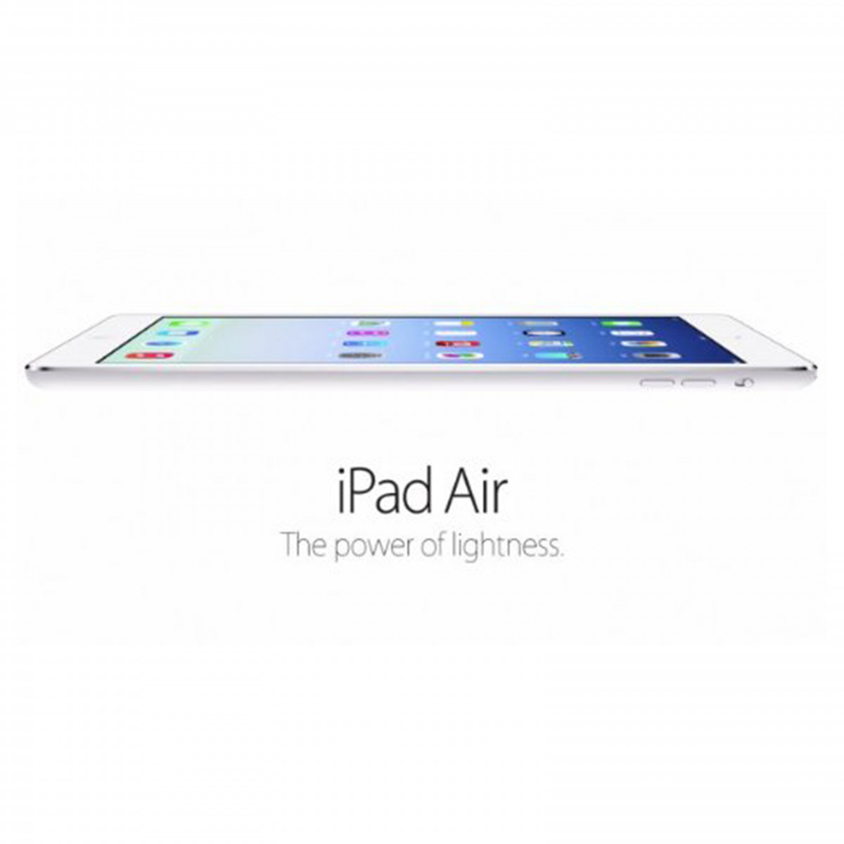 Apple iPad Air MD789FD/A (1GB RAM, 16GB ROM, Color-Silver
