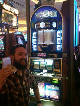 I won 3 silver strikes!