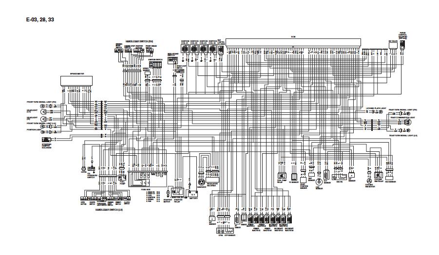 MANUAL SERVICE & REPAIR GUIDE for KAWASAKI NINJA ZX12R