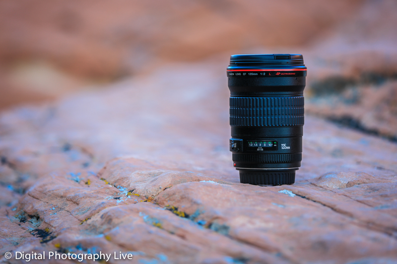 Canon EF 135mm f/2.0L Lens