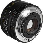 Nikon AF Nikkor 50mm f:1.8D Lens-b