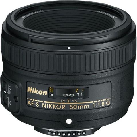 Nikon AF-S NIKKOR 50mm f:1.8G Lens