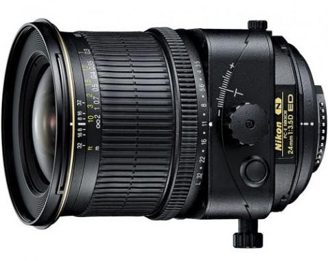 Nikon PC-E NIKKOR 24mm f/3.5D ED Lens