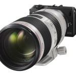 Canon EOS-M with EF 70-200mmf:2.8