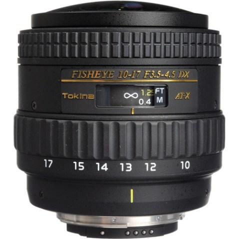TokinaAT-X 107 AF DX NH Fisheye Lens