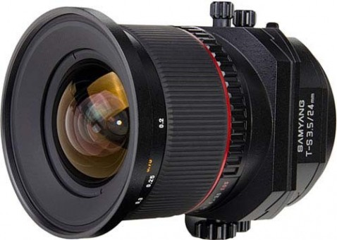 Samyang TS-24mm ED AS UMC Tilt-Shift Lens
