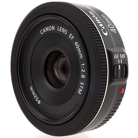 Canon EF 40mm f:2.8 STM Pancake Lens a