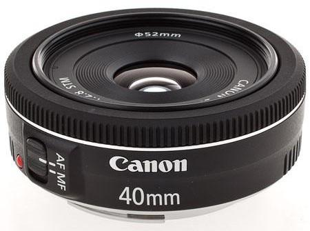 Canon EF 40mm f:2.8 STM Pancake Lens