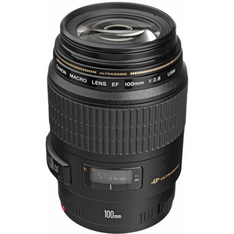 Canon EF 100mm f:2.8 USM Macro Lens