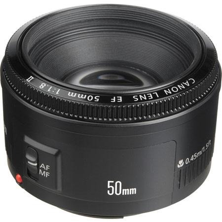 Canon EF 50mm f:1.8 II Lens