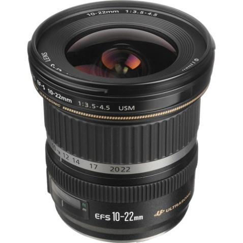 Canon EF-S 10-22mm f:3.5-4.5 USM Lens