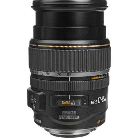 Canon EF-S 17-85mm f:4-5.6 IS USM Lens-b