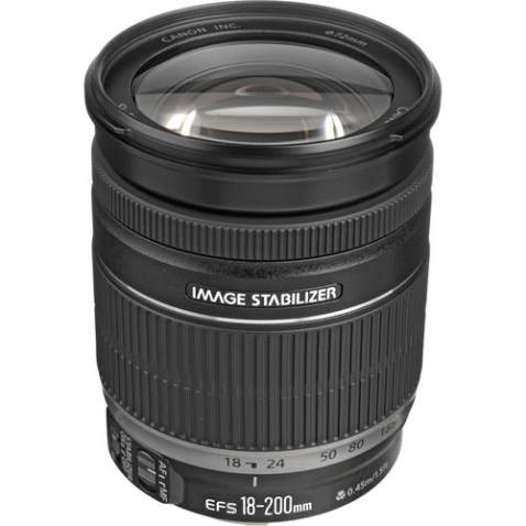 Canon EF-S 18-200mm f:3.5-5.6 IS Lens