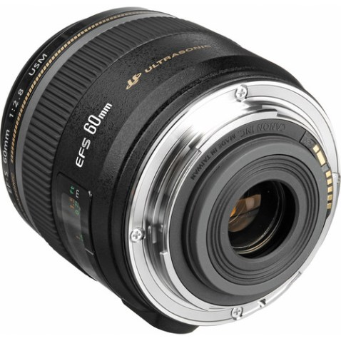 Canon EF-S 60mm f:2.8 Macro USM Lens-b