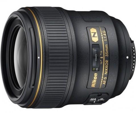 Nikon AF-S NIKKOR 35mm f:1.4G Lens