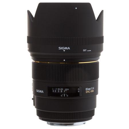 Sigma 85mm f:1.4 EX DG HSM a