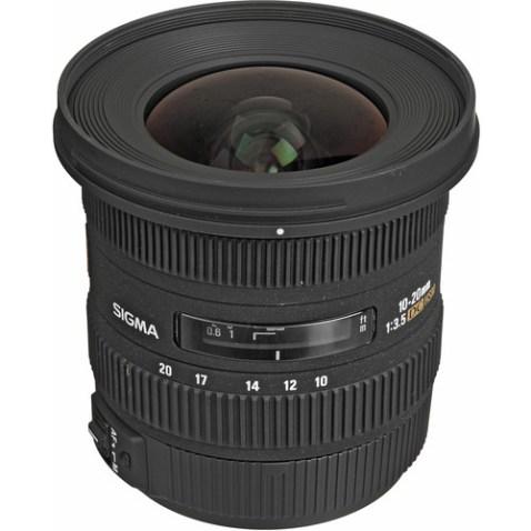 Sigma 10-20mm f:3.5 EX DC HSM Lens