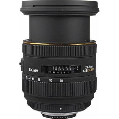 Sigma 24-70mm f:2.8 EX DG HSM
