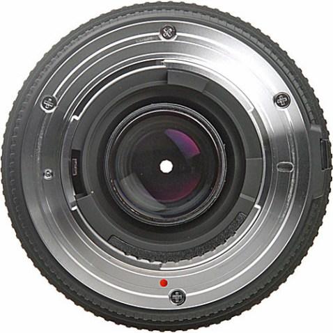 Sigma 70-300mm F:4-5.6 DG Macro Lens (Back)