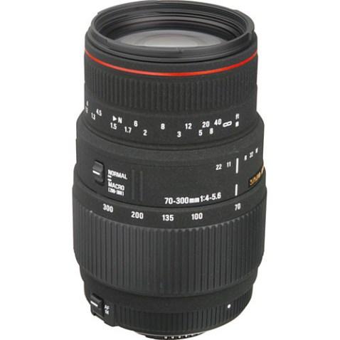Sigma 70-300mm F:4-5.6 DG Macro Lens