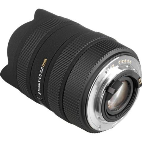 Sigma 8-16mm f:4.5-5.6 DC Lens