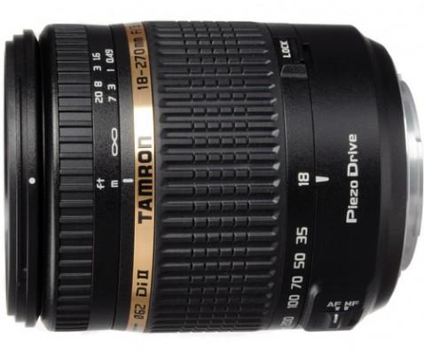 Tamron 18-270mm f:3.5-6.3 XR Di II PZD Lens