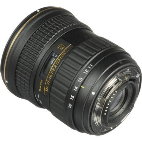Tokina 11-16mm f:2.8 AT-X116 Pro DX II Lens Nikon Mount
