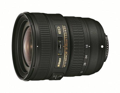 Nikon AF-S Nikkor 18-35mm f:3.5-4.5G ED lens