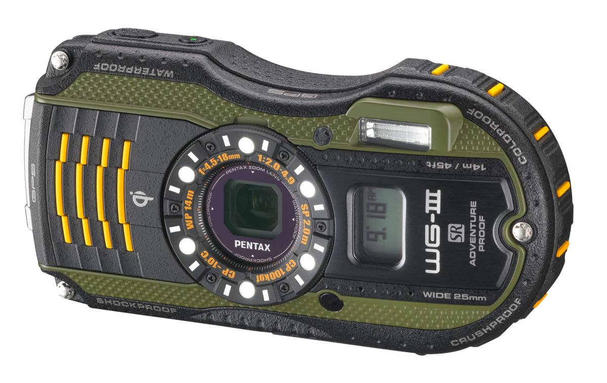 Pentax WG-3 and WG-3 GPS