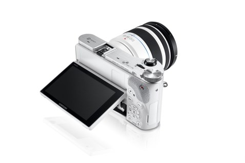 Samsung NX300 LCD display