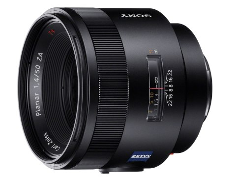 "Carl Zeiss ""Planar T* 50mm F1.4 ZA SSM"""