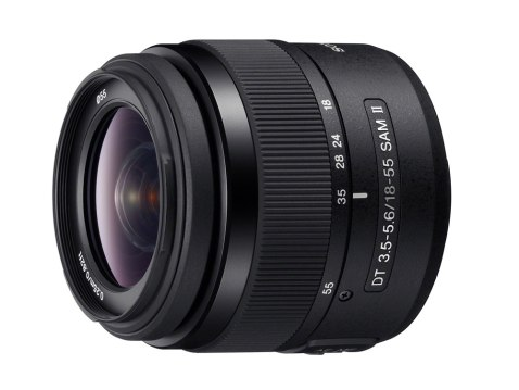 Sony DT 18-55mm F3.5-5.6 SAM II kit lens