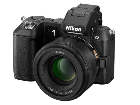 1 Nikkor 32mm f:1.2 portrait lens with nikon v2
