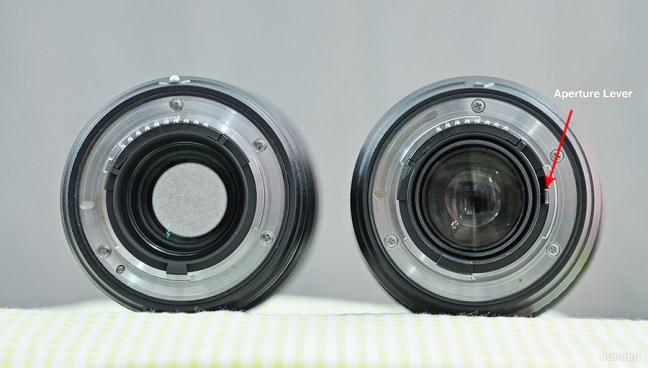 AF-S Nikkor 300mm f4E PF ED VR Rear view