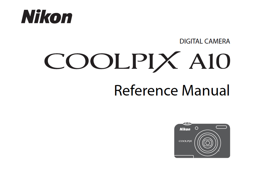Nikon Coolpix A10 Reference or User's Manual Available for Download [PDF]   Digital Photography Live