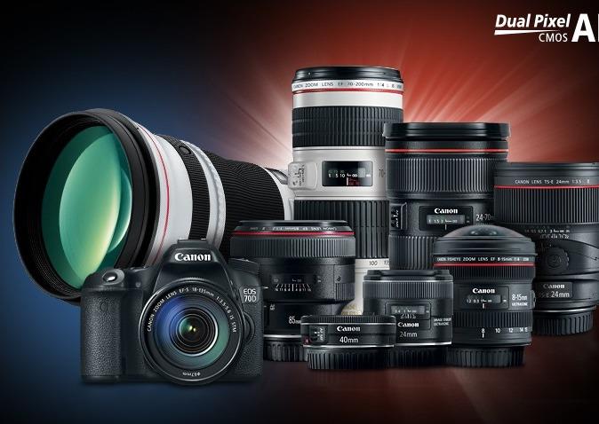 Canon Dual Pixel CMOS AF Compatible Lens Chart